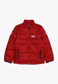 Jack Wolfskin - ARGON JACKET KIDS - Outdoor jacket - red lacquer - 0