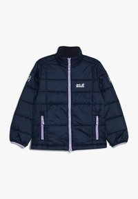 Jack Wolfskin - ARGON JACKET KIDS - Outdoorjakke - midnight blue - 0