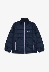 Jack Wolfskin - ARGON JACKET KIDS - Outdoorjakke - midnight blue - 4