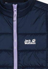 Jack Wolfskin - ARGON JACKET KIDS - Outdoorjas - midnight blue - 5