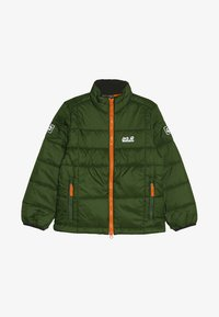 Jack Wolfskin - ARGON JACKET KIDS - Outdoorjas - deep forest - 4