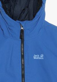Jack Wolfskin - ARGON STORM JACKET KIDS - Outdoorová bunda - coastal blue - 5