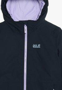 Jack Wolfskin - ARGON STORM JACKET KIDS - Outdoor jacket - midnight blue - 4