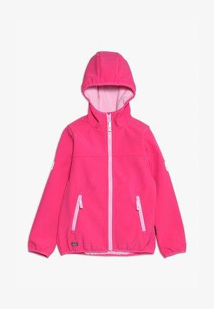 FOURWINDS JACKET KIDS - Softshellová bunda - pink fuchsia