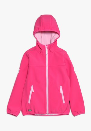 FOURWINDS JACKET KIDS - Soft shell jacket - pink fuchsia