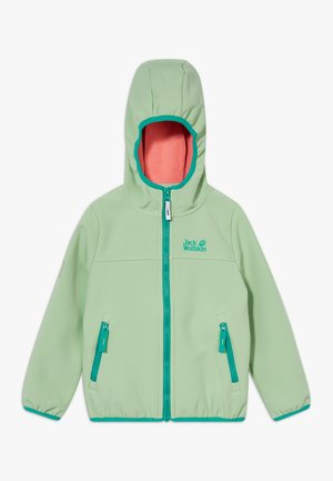 FOURWINDS JACKET KIDS - Softshellová bunda - spring green