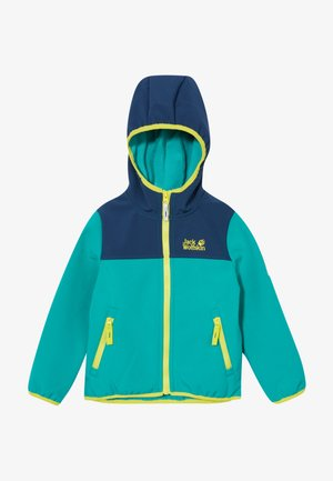 FOURWINDS JACKET KIDS - Kurtka Softshell - green ocean