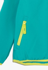 Jack Wolfskin - FOURWINDS JACKET KIDS - Softshellová bunda - green ocean - 4