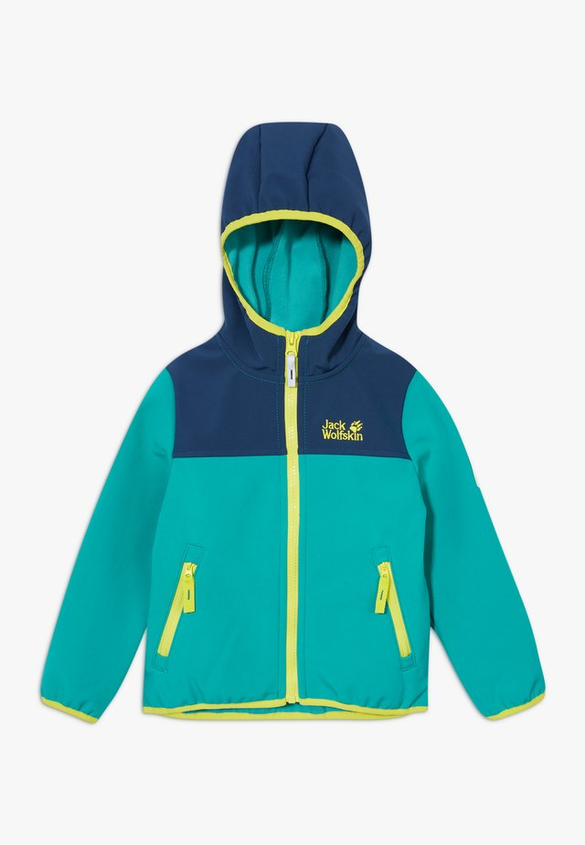 FOURWINDS JACKET KIDS - Chaqueta softshell - green ocean