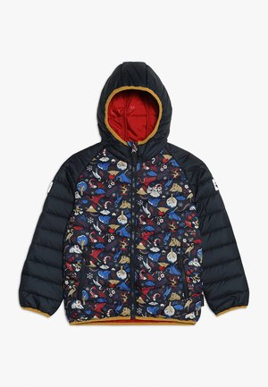 ZENON PRINT JACKET KIDS - Outdoorjakke - dark lacquer red