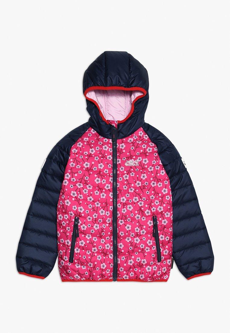 Jack Wolfskin - ZENON PRINT JACKET KIDS - Giacca outdoor - pink fuchsia