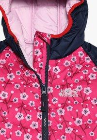 Jack Wolfskin - ZENON PRINT JACKET KIDS - Giacca outdoor - pink fuchsia - 5