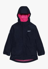 Jack Wolfskin - ICE CAVE JACKET GIRLS 2-IN-1 - Giacca hard shell - midnight blue - 0