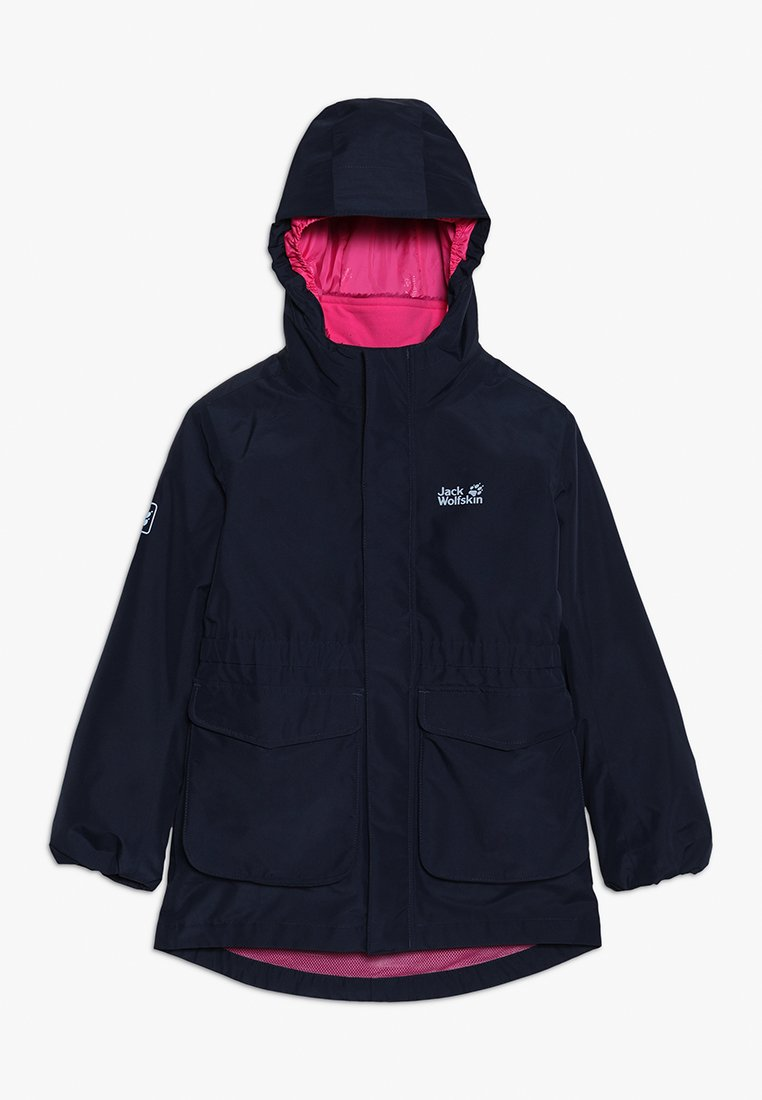Jack Wolfskin - ICE CAVE JACKET GIRLS 2-IN-1 - Giacca hard shell - midnight blue