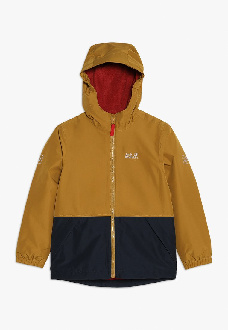 Jack Wolfskin - SNOWY DAYS JACKET KIDS - Outdoorjas - golden amber