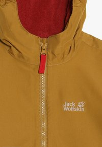 Jack Wolfskin - SNOWY DAYS JACKET KIDS - Outdoorjas - golden amber - 5