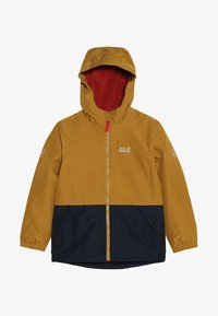 Jack Wolfskin - SNOWY DAYS JACKET KIDS - Outdoorjas - golden amber - 4