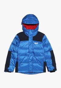 Jack Wolfskin - MOUNT COOK JACKET KIDS - Down jacket - coastal blue - 0