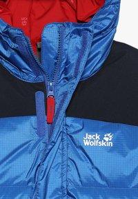 Jack Wolfskin - MOUNT COOK JACKET KIDS - Down jacket - coastal blue - 4
