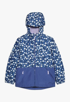 SNOWY DAYS PRINT JACKET KIDS - Chaqueta outdoor - blueberry all over