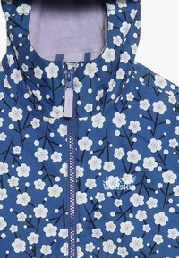 Jack Wolfskin - SNOWY DAYS PRINT JACKET KIDS - Outdoorjas - blueberry all over - 4