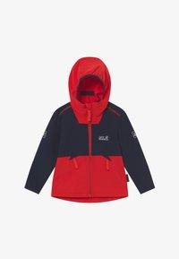 Jack Wolfskin - TURBULENCE BOYS - Soft shell jacket - peak red - 2