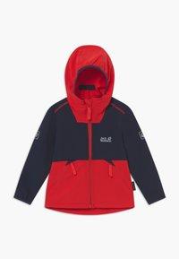 Jack Wolfskin - TURBULENCE BOYS - Soft shell jacket - peak red - 0