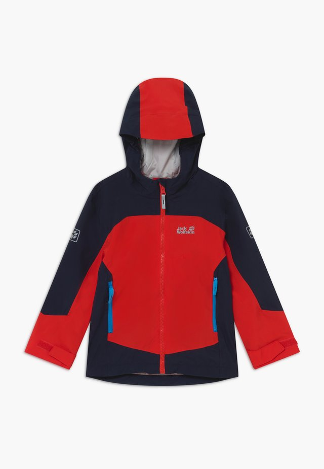 ROPI JACKET BOYS - Chaqueta Hard shell - peak red