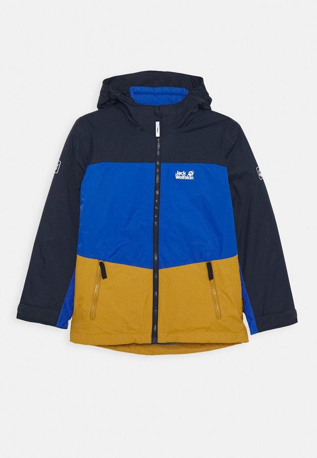 ARGON ICE 3IN1 JACKET KIDS - Hardshell jacket - golden amber