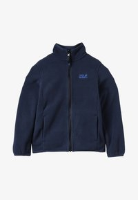 Jack Wolfskin - BAKSMALLA JACKET KIDS - Giacca in pile - midnight blue - 2