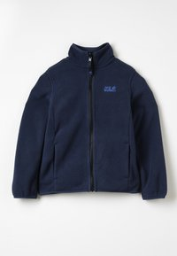 Jack Wolfskin - BAKSMALLA JACKET KIDS - Giacca in pile - midnight blue - 0