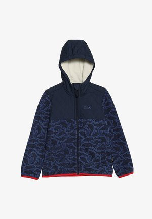 NORDIC HOODED JACKET KIDS - Fleece jacket - night blue