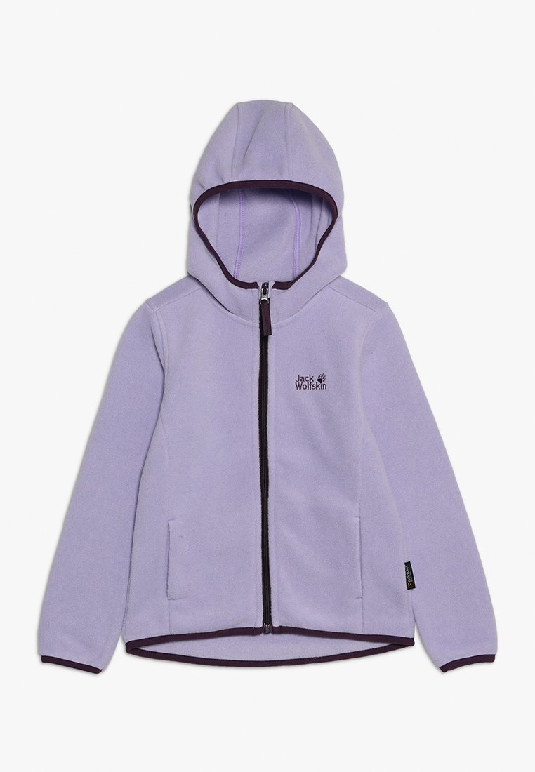 Jack Wolfskin - BAKSMALLA HOODED JACKET KIDS - Forro polar - true lavender