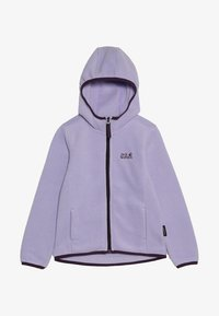 Jack Wolfskin - BAKSMALLA HOODED JACKET KIDS - Forro polar - true lavender - 4