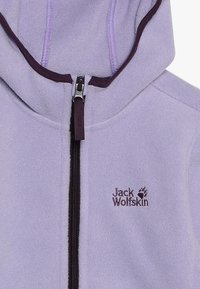 Jack Wolfskin - BAKSMALLA HOODED JACKET KIDS - Forro polar - true lavender - 5