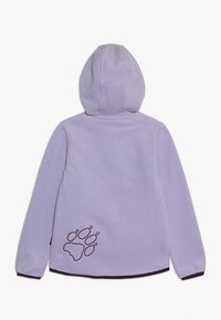 Jack Wolfskin - BAKSMALLA HOODED JACKET KIDS - Forro polar - true lavender - 1