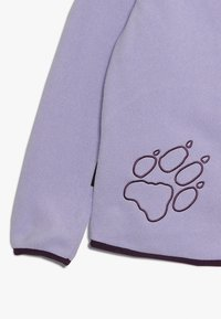 Jack Wolfskin - BAKSMALLA HOODED JACKET KIDS - Forro polar - true lavender - 3