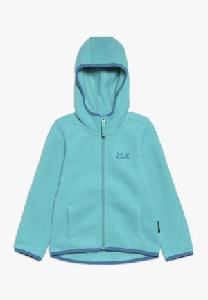 BAKSMALLA HOODED JACKET KIDS - Fleecejakke - aquamarine