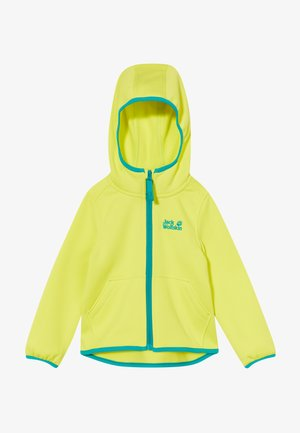 KIEWA KIDS - Fleecová bunda - flashing green
