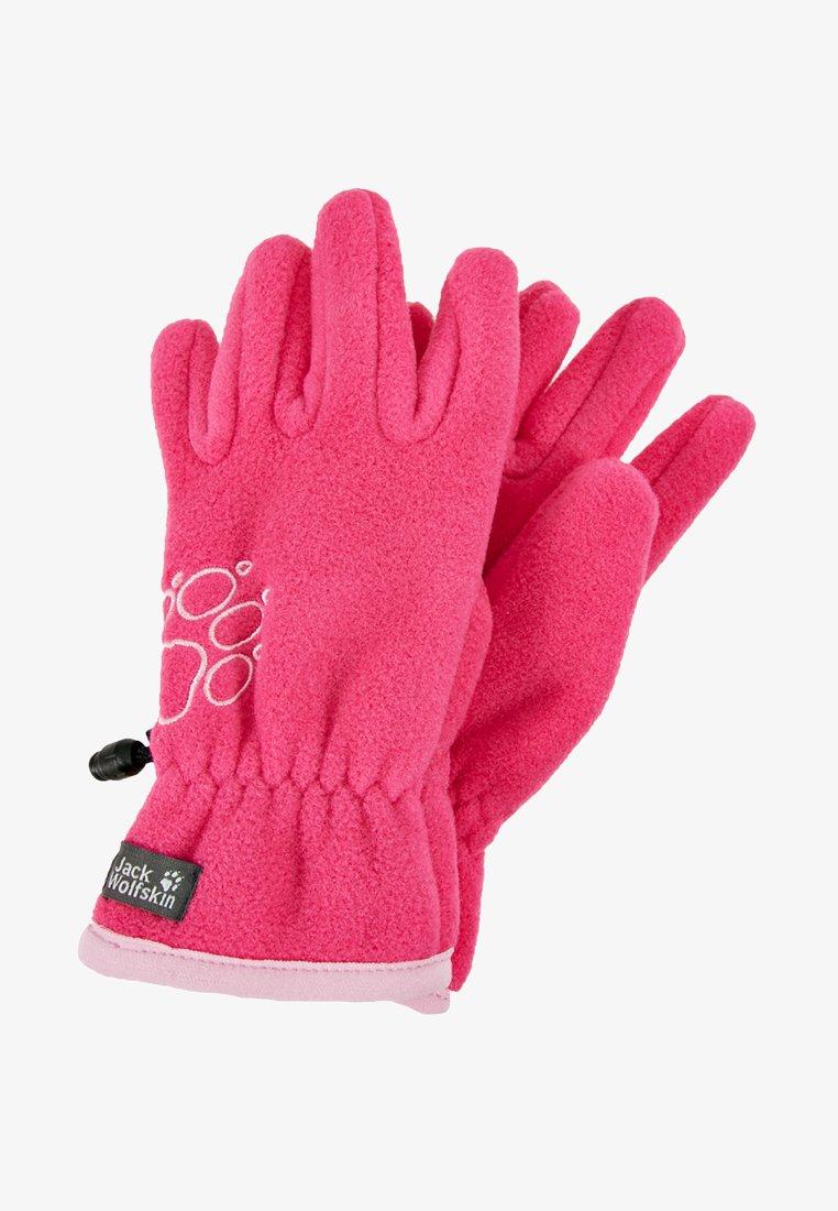 Jack Wolfskin - BAKSMALLA GLOVE KIDS - Handsker - pink fuchsia