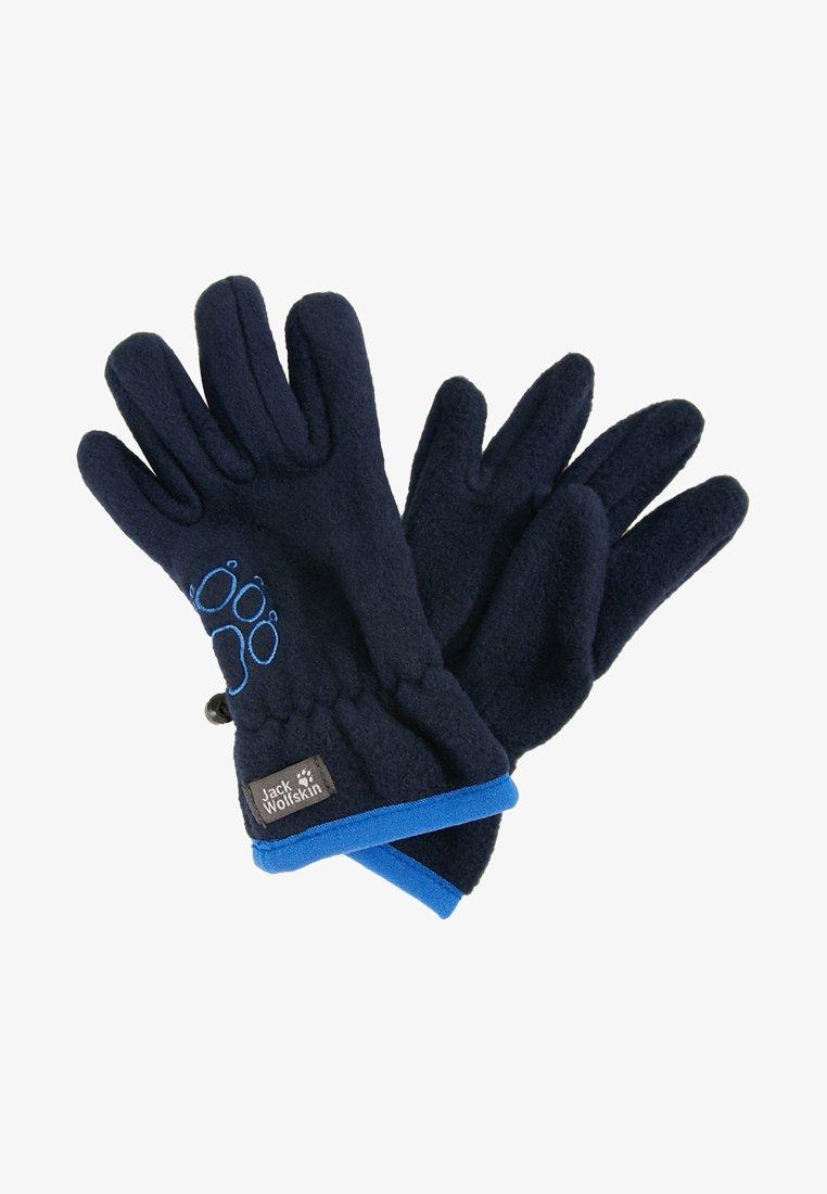 Jack Wolfskin - BAKSMALLA GLOVE KIDS - Gloves - midnight blue