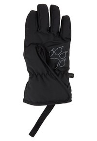 Jack Wolfskin - EASY ENTRY GLOVE KIDS - Fingerhandschuh - black - 1