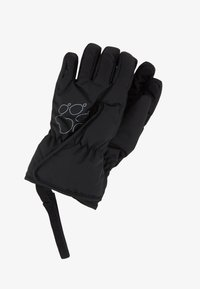Jack Wolfskin - EASY ENTRY GLOVE KIDS - Rukavice - black - 0