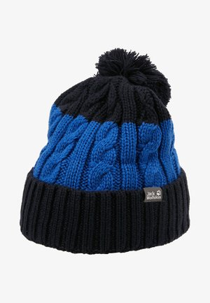 STORMLOCK POMPOM BEANIE KIDS - Muts - coastal blue