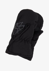 Jack Wolfskin - EASY ENTRY MITTEN KIDS - Palčáky - black - 0