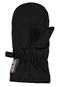 Jack Wolfskin - EASY ENTRY MITTEN KIDS - Palčáky - black - 2