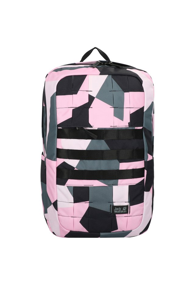 Rugzak - pink geo block