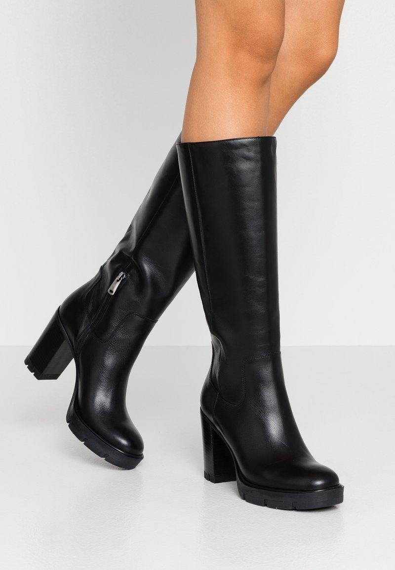 Janet Sport - High Heel Stiefel - amanda nero
