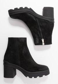 Janet Sport - Kotníkové boty na platformě - diana nero - 3
