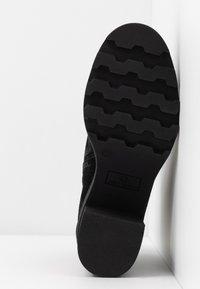 Janet Sport - Kotníkové boty na platformě - diana nero - 6